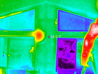 Termite Thermal Imaging Home Inspections